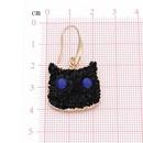 Womens Geometric Plastic Personalized creative cat Earrings NHGO125154