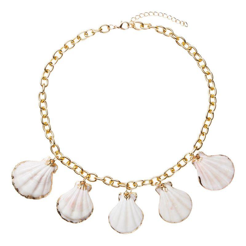 Womens Hawaiian wind shells  Necklaces NHJE126343