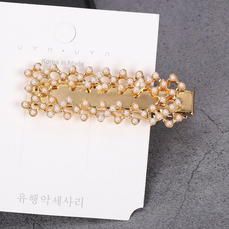 Womens Geometric Painted Beads Hair Accessories NHJQ126366