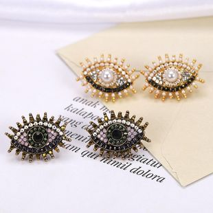 Womens Geometric Exaggerated explosion eyes Earrings NHJQ126443's discount tags