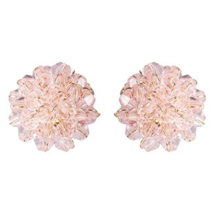 Womens Floral Acrylic Earrings NHJE126449's discount tags
