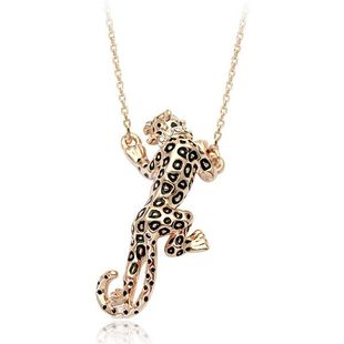 Womens Animals / Zodiac Plating Alloys Jaguar Necklaces NHLJ126461's discount tags