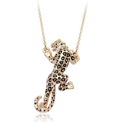 Womens Animals / Zodiac Plating Alloys Jaguar Necklaces NHLJ126461's discount tags