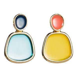 Womens Geometric Resin Earrings NHJE126475's discount tags