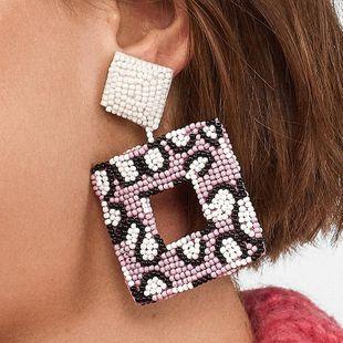Womens Geometric Beads Earrings NHJJ126477's discount tags