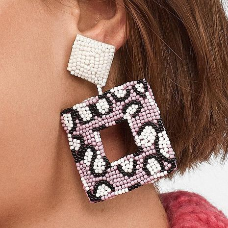 Womens Geometric Beads Earrings NHJJ126477's discount tags
