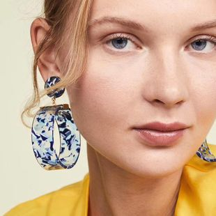 Womens Ring Acetate Sheet Earrings NHJE126484's discount tags