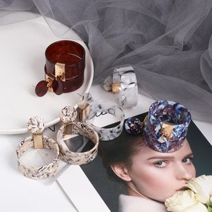 Womens Shell Plastic / Resin Earrings NHJJ126486's discount tags