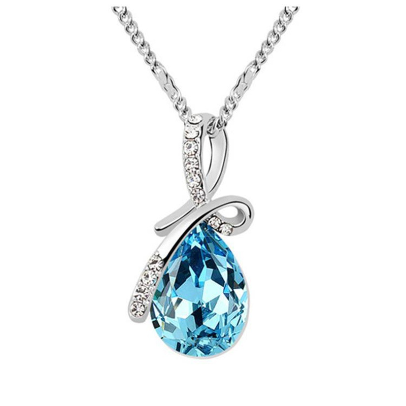 Womens teardrop plating alloy other Necklaces NHLJ126524