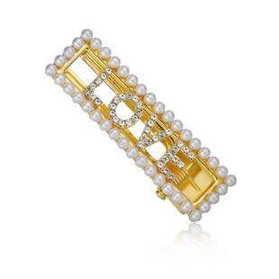 Fashion beads rhinestone Beads Alloy Hair Clip NHBQ126526's discount tags