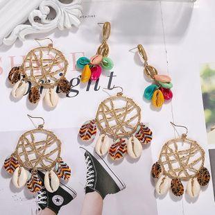Summer Ocean Series Beads Shell Earrings NHJQ126531's discount tags