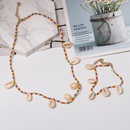 Womens Simple ethnic style shell  Necklaces NHJJ126337