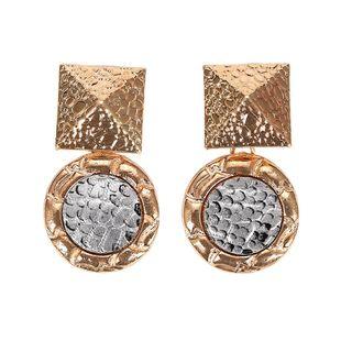Womens Geometric Snake alloy Earrings NHJQ126670's discount tags