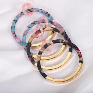 Womens Geometric Acrylic Earrings NHJQ126733's discount tags