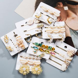 Womens Shell and Beads Shell Hair Accessories NHJE126738's discount tags