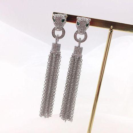 Womens Fashion alloyen leaves rhinestone earrings NHWK126982's discount tags