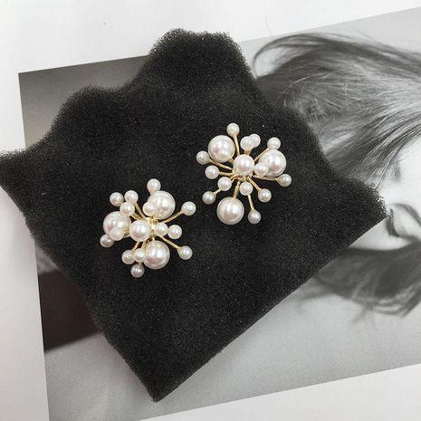 Womens Fashion Beads Fireworks Earrings NHWK126990's discount tags