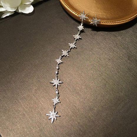 Womens Fashion eight-star long tassel earrings NHWK127030's discount tags