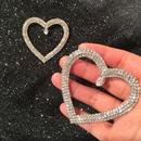 Womens Fashion Love Earrings Super Flash Drill Earrings NHWK127176