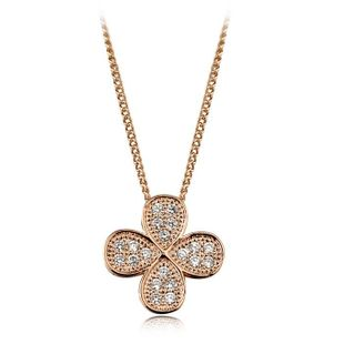 Womens electroplated alloy Necklaces NHLJ127382's discount tags