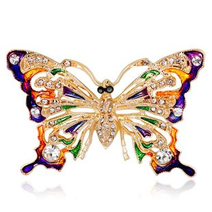Womens Insect Plating Alloy Brooches NHDR127387's discount tags