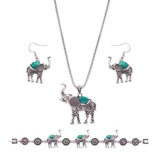 Womens Electroplated Alloy Jewelry Sets NHXS127412's discount tags