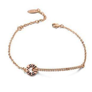 Fashion LOVE Letter Bracelet NHLJ127451's discount tags