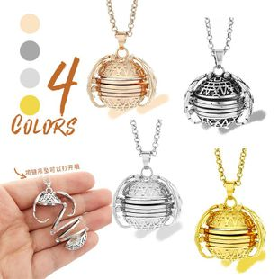 Couple type geometric plating alloy Necklaces NHXS127465's discount tags