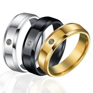 Unisex Geometric Stainless Steel Rings NHHF127477's discount tags