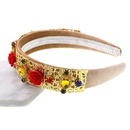 Womens Crown Plating Alloy Hair Accessories NHNT127315