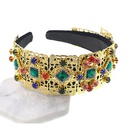 Womens Ushaped plating alloy Hair Accessories NHNT127352
