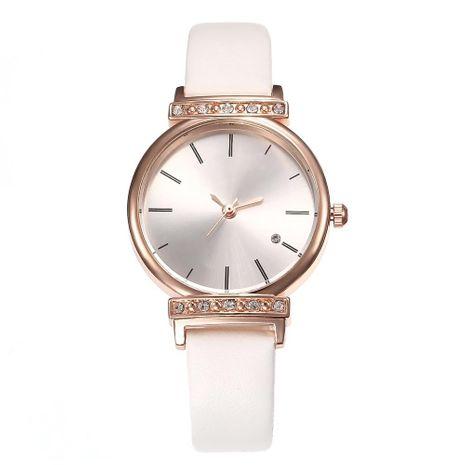 Best selling fashion simple scale belt quartz watch NHHK127531's discount tags