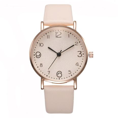 Fashion casual simple digital ladies quartz watch NHHK127533's discount tags