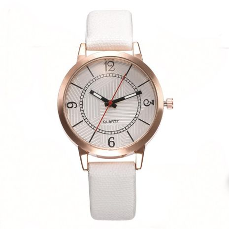 Simple and stylish casual quartz wrist watch NHHK127544's discount tags