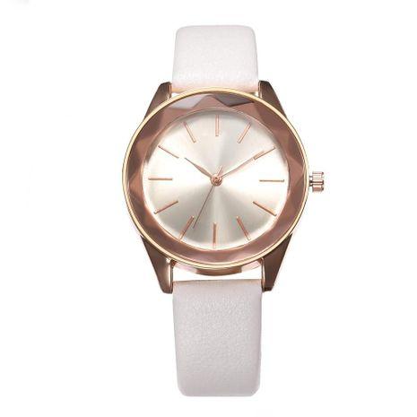 Simple scale ladies quartz belt wrist watch NHHK127551's discount tags