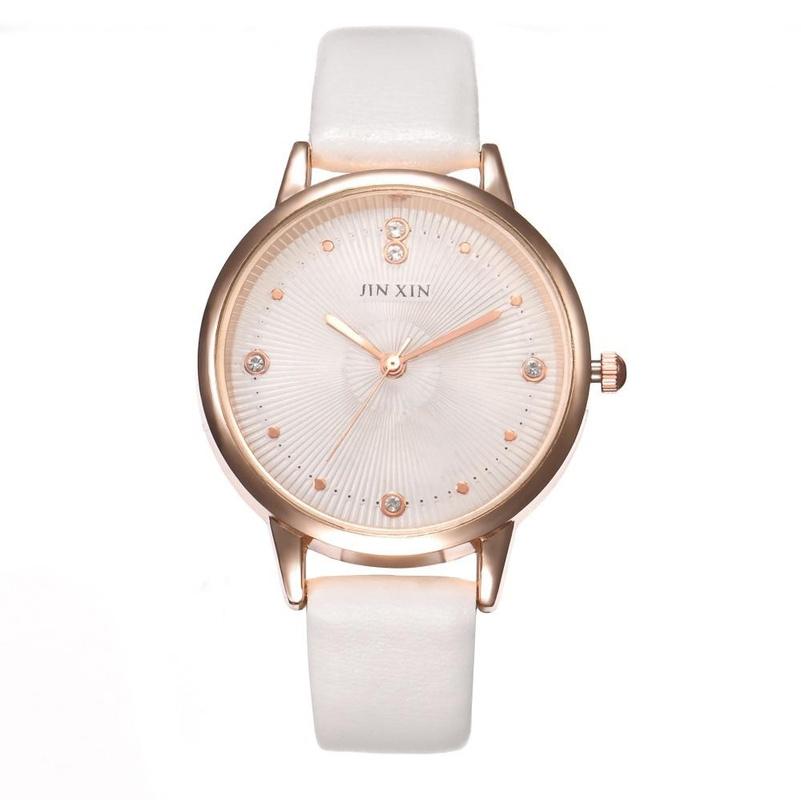 Creative casual simple fashion belt quartz watch NHHK127550