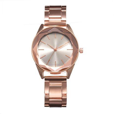 Fashion simple scale ladies alloy steel belt quartz watch NHHK127553's discount tags