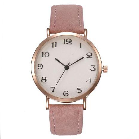 Fashion simple quartz belt female models Arabic digital wrist watch NHHK127554's discount tags