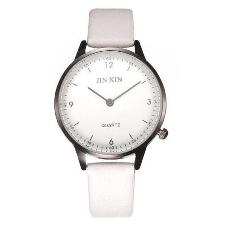Fashion ladies double scale no second hand creative belt quartz watch NHHK127556's discount tags