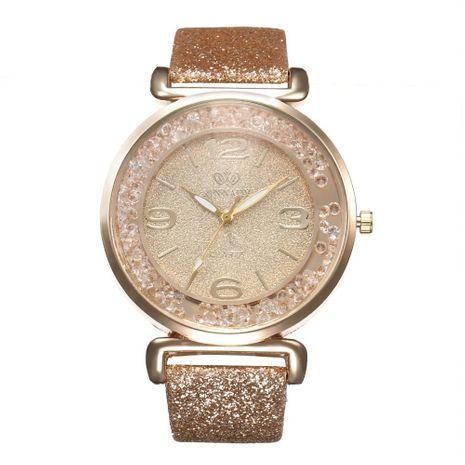 Luxury Rhinestone Quicksand Digital Quartz Wrist Watch NHHK127570's discount tags