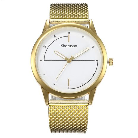 Fashion simple scale quartz watch NHHK127571's discount tags