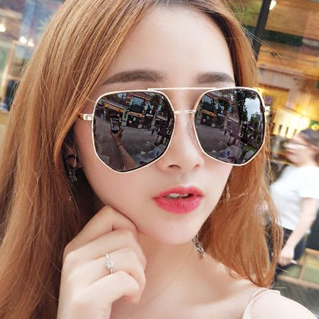 New star men and women gray ant sunglasses NHKD127636's discount tags