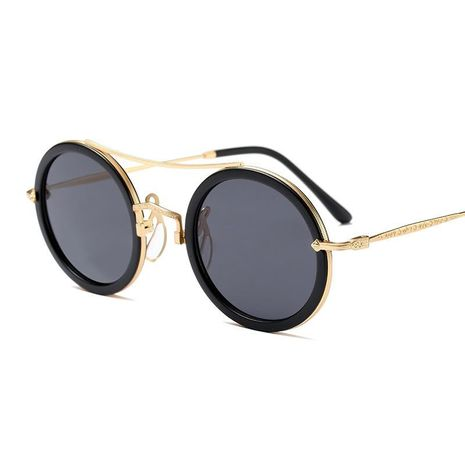 European and American big round frame sunglasses NHFY127664's discount tags