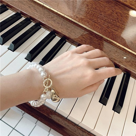 Womens geometric inlaid beads alloy Bracelets & Bangles NHWF127730's discount tags