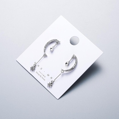Womens Geometry 925 alloy needle hypoallergenic Alloy Earrings NHWF127754's discount tags