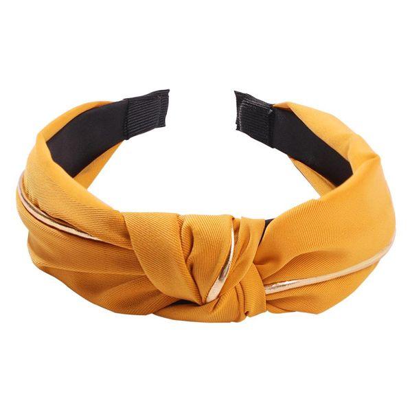 Accesorios para el cabello arco de la venda de tela en forma de U para mujer NHMD127863