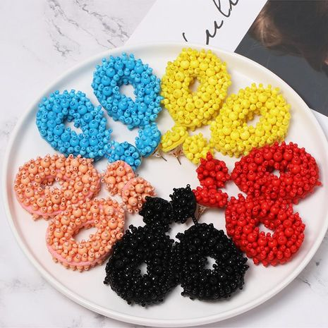 Womens Geometric Rice beads geometry Earrings NHJJ127869's discount tags
