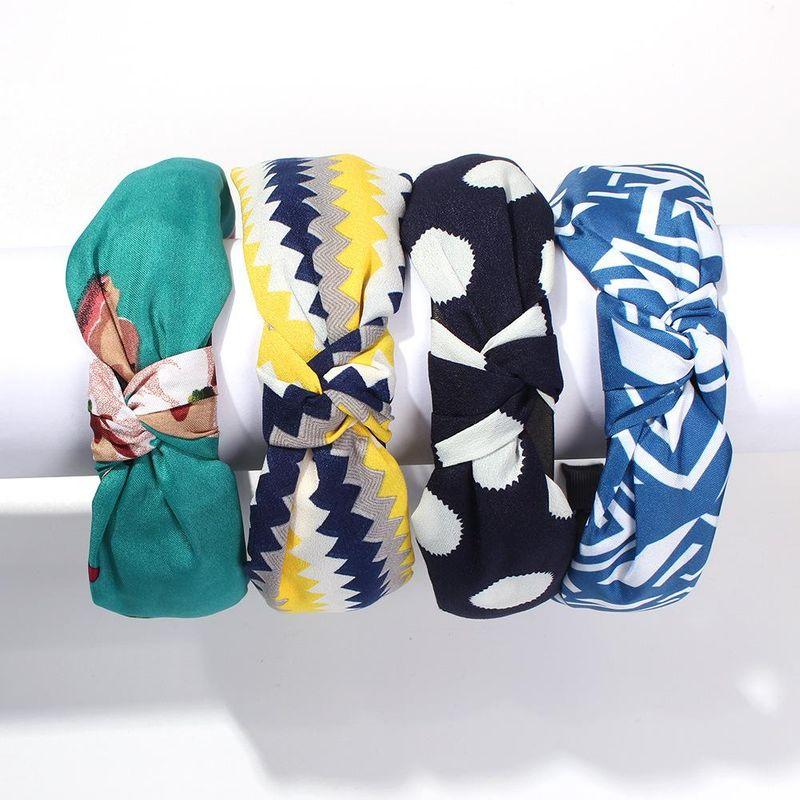 Womens U-shaped cloth headband Hair Accessories NHMD127900
