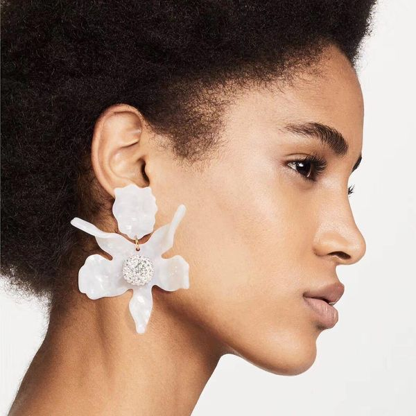 Womens Geometric Acrylic Earrings NHKC127911