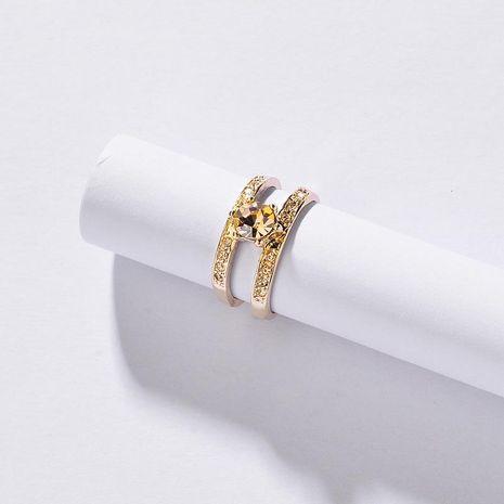 Womens Geometric Agate Rings NHLU128041's discount tags